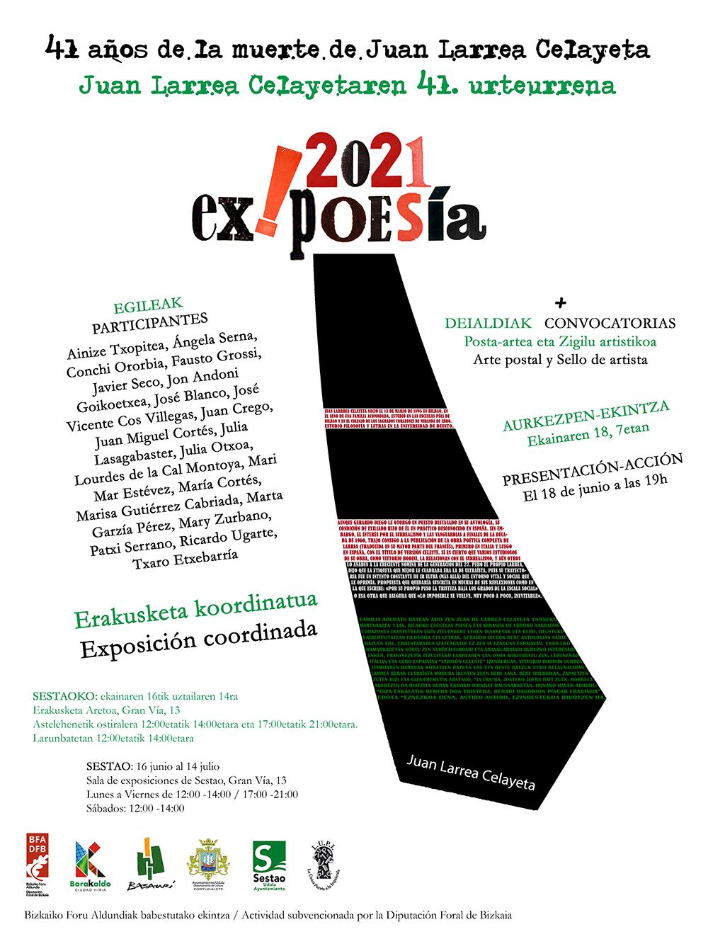 Cartel Sestao 2021